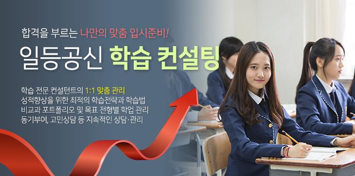 최적의 교과/비교과 학습전략과 전형준비, 에듀하이 학습 컨설팅